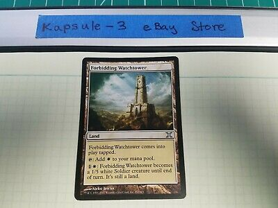 Forbidding Watchtower   10th Edition   MTG Magic the Gathering Cards