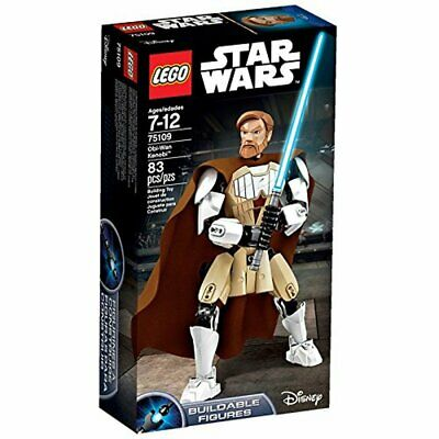 "LEGO Star Wars 75109 Obi-Wan Kenobi 10"" buildable action figure toy"