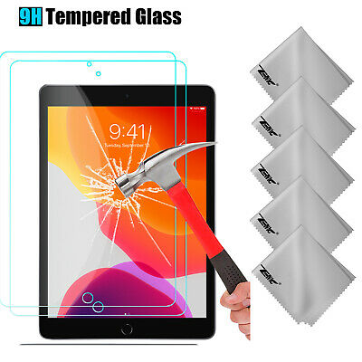 """For iPad 10.2"""" 2019 7th Generation Tablet Tempered Glass Screen Protector Film"""