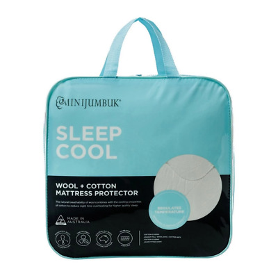 Sleep Cool Mattress Protector by by MiniJumbuk Brand New