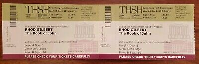 Rhod gilbert tickets Birmingham December 4th