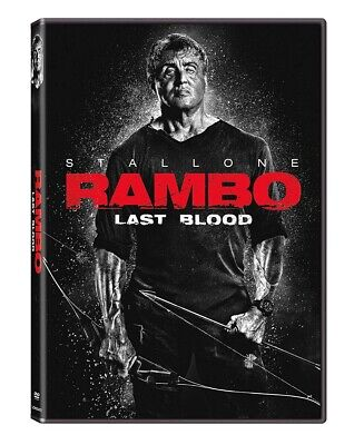 Rambo: Last Blood DVD 2019 BRAND NEW FAST SHIPPING