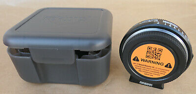 Metabones Reductor Focal Nikon F A Micro 4/3 Speed Booster Xl 0,64 X