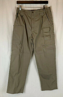 5.11 Tactical Series Brown Pants Mens Size 32 x 30 #109614 Utility Cargo