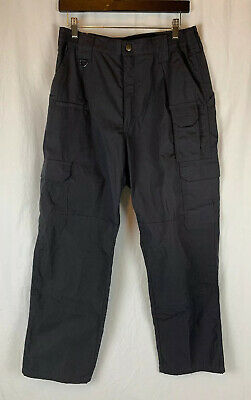 5.11 Tactical Series Charcoal Pants Mens Size 32 x 30 #109614 Utility Cargo