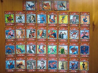 Lote de 35 trading cards SPIDERMAN 2 (2004). SPIDER-MAN II. DOCTOR OCTOPUS