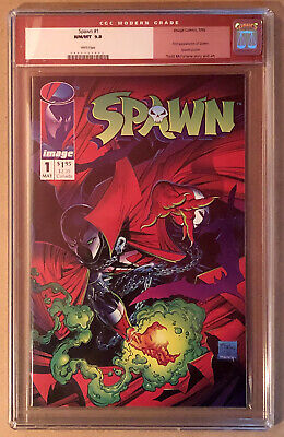 Spawn #1 (Image) CGC 9.8 Todd McFarlane Perfect for SS 1992 1st Appearance