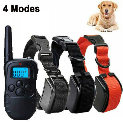 1 2 3 Dog Training Shock Collar With Remote Electric Trainer Small Large Big