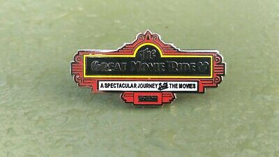 Great Movie Ride Sign Hidden Mickey Wave C Attraction Signs 2019 Disney pin WDW