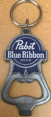 Pabst Blue Ribbon PBR Beer Bottle Opener Keychain -  NEW! - Milwaukee, WI