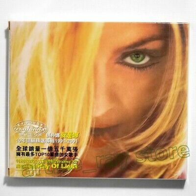 Madonna GHV 2 GHV2 Taiwan CD BOX Greatest Hits Best Ray Of Light 2001