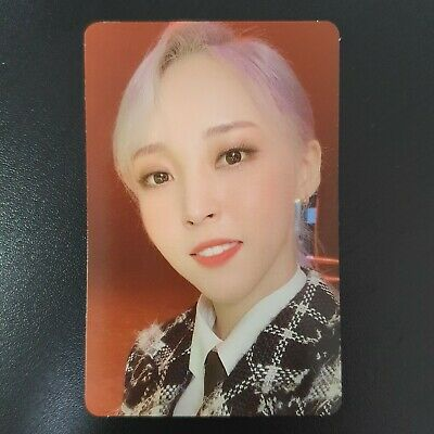 Moonbyul - Official Photocard Mamamoo 2nd Album Reality in Black kpop