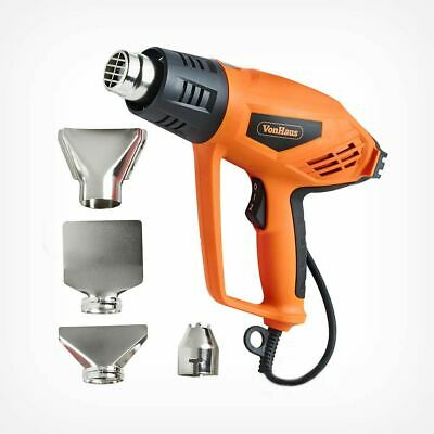QUALITY 2000W Electric Heat Gun Shrink Hot Air Paint Vinyl Floor Stripper Tool
