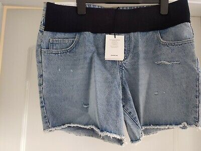 New Look Maternity denim Shorts Size 12