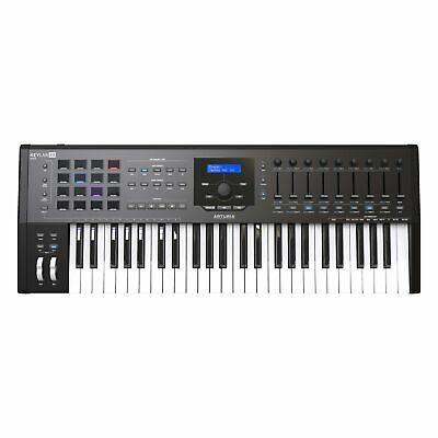 Arturia KeyLab MKII 49 - Professional MIDI Controller and Software - Black