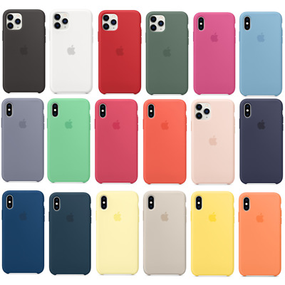 For Apple iPhone 11 Pro Max Soft Silicone OEM Original Case Cover Back