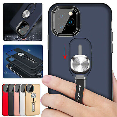 For iPhone 11 Pro Max 8 7 Plus 6s XS XR Case Hybrid Rubber Tough Slim Hard Cover