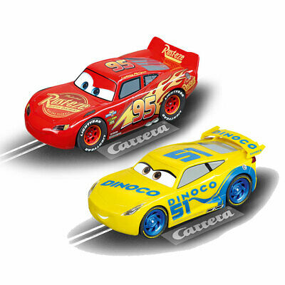 CARRERA 1/32 Slot Car CA27539 CA27540 Pixar Lightning McQueen Cruz Ramirez