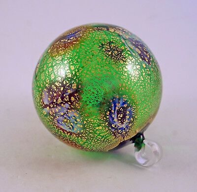 Murano Millefiori Gorgeous Ornament Ball Murrine Italian Art Glass Of Venice