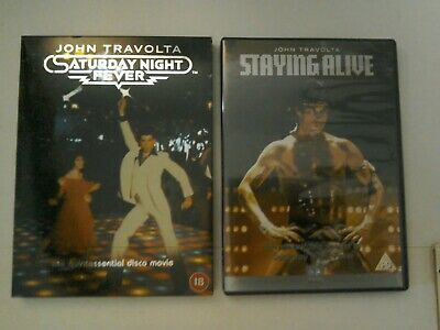 DVD, Saturday Night Fever & Staying Alive, John Travolta