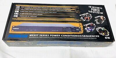 Furman Merit M-8S Power Conditioner/Sequencer w/ SURGE PROTECTION BRAND NEW
