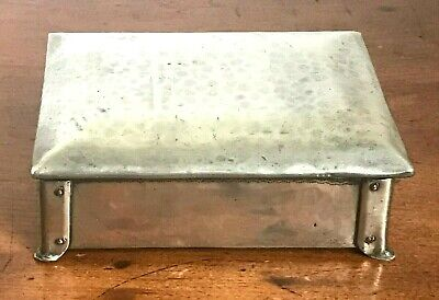 Vintage Arts & Crafts Pewter Box - By J.H.Green - Ex Artificers Guild c.1930