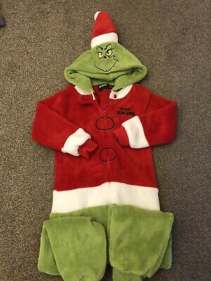 Grinch All In One onesie (not Gerber) Age 4-5