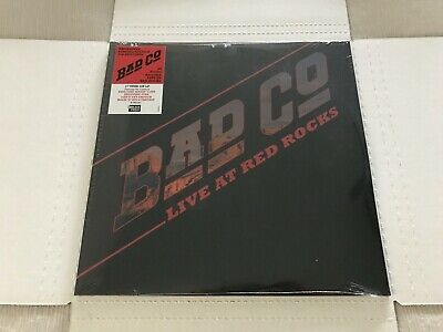 Bad Company- LIVE AT RED ROCKS - RSD Black Friday RECORD STORE DAY-2LP RED VINYL
