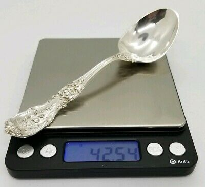 """Francis 1 Round Bowl Soup Spoon 5-7/8"""" OLD MARK Reed Barton Sterling Silver I NR"""