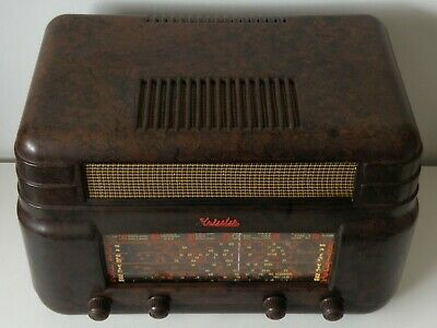 Nice Working 1940 Kriesler Model 11-7 Oz-Made Mw+Sw Valve Tube Radio, No Pickups