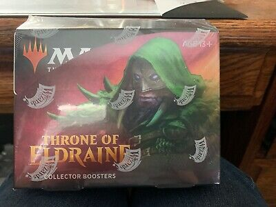 Mtg Magic The Gathering Throne Of Eldraine Collector Booster Box Factory Sealed