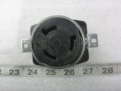 Hubbell HBL 3769 50A 250VDC 600VAC Twist-Lock Receptacle Non-NEMA, Used