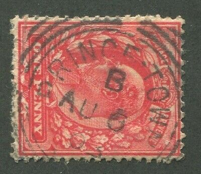 """Great Britain Squared Circle Cancel """"Prince Town"""""""