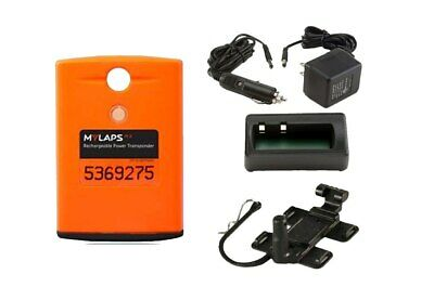 MyLaps AMB Orange MX (Motocross) Classic Transponder Complete with Charger