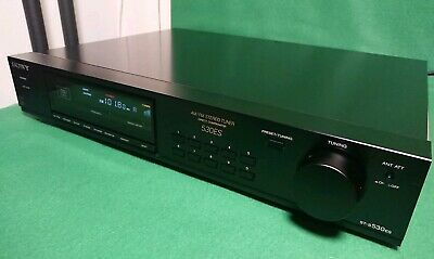 Sony ST-S530ES AM/FM Stereo Tuner hi-end 🔝 Condition