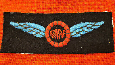 Ww2 Royal Australian Air Force Air Transport? Uniform Wing Badge
