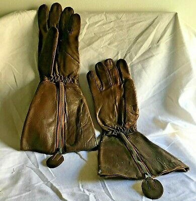 WW11 Beaufort Bomber Pilot Flying Gloves