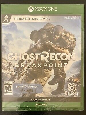 Ghost Recon Breakpoint Sentinel Corp Xbox One X 2019 Brand New