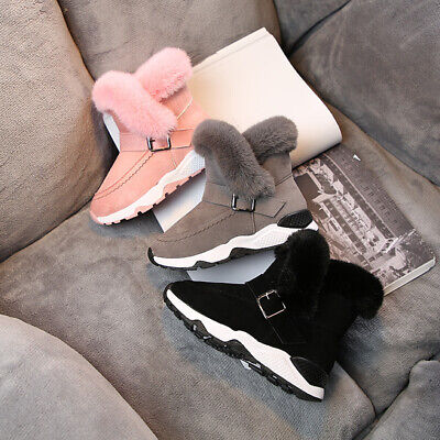 Infant Baby Toddler Winter Warm Snow Boots Anti-slip Shoes Slipper Shoes Boots