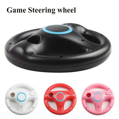 Game Racing Steering Wheel For Nintendo Wii Mario Kart Remote Controller  US D