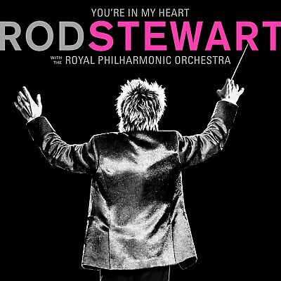 Rod Stewart You're in my Heart with the RPO CD