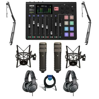 Rode Microphones RODECaster Pro Integrated Podcast Production Console W/ACC KIT