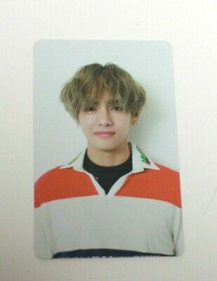 Bts 5th Mini Album Love Yourself 承 'HER'  V TAEHYUNG Official Photocard