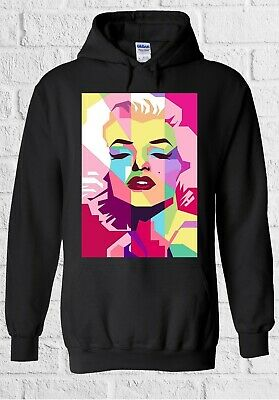 Marilyn Monroe Blond Actress Model Men Women Unisex Top Sweatshirt Hoodie 2276