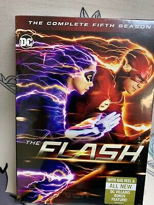 The Flash: The Complete Fifth Season (DVD,2019) Factory Sealed!