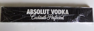 Absolut Vodka Bar Rail Mat Barware New In Package