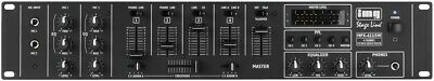 MPX-622/SW - 6-Kanal-Stereo-Audio-Mischpult