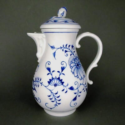 Big Coffee Pot Onion Pattern Meissen