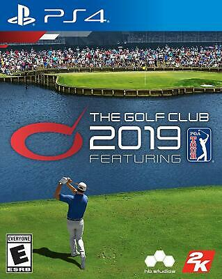 2K Sports The Golf Club 2019 PS4 Officially Licensed PGA Tour PlayStation 4 NEW