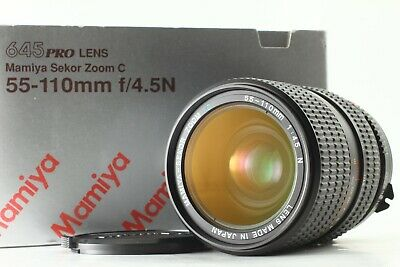 Mamiya Sekor Zoom C 55-110mm f/4.5 N Lens for 645 [Mint in Box] From Japan 253